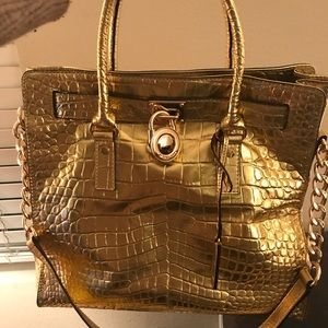 Michael Kors Hamilton rare color handbag